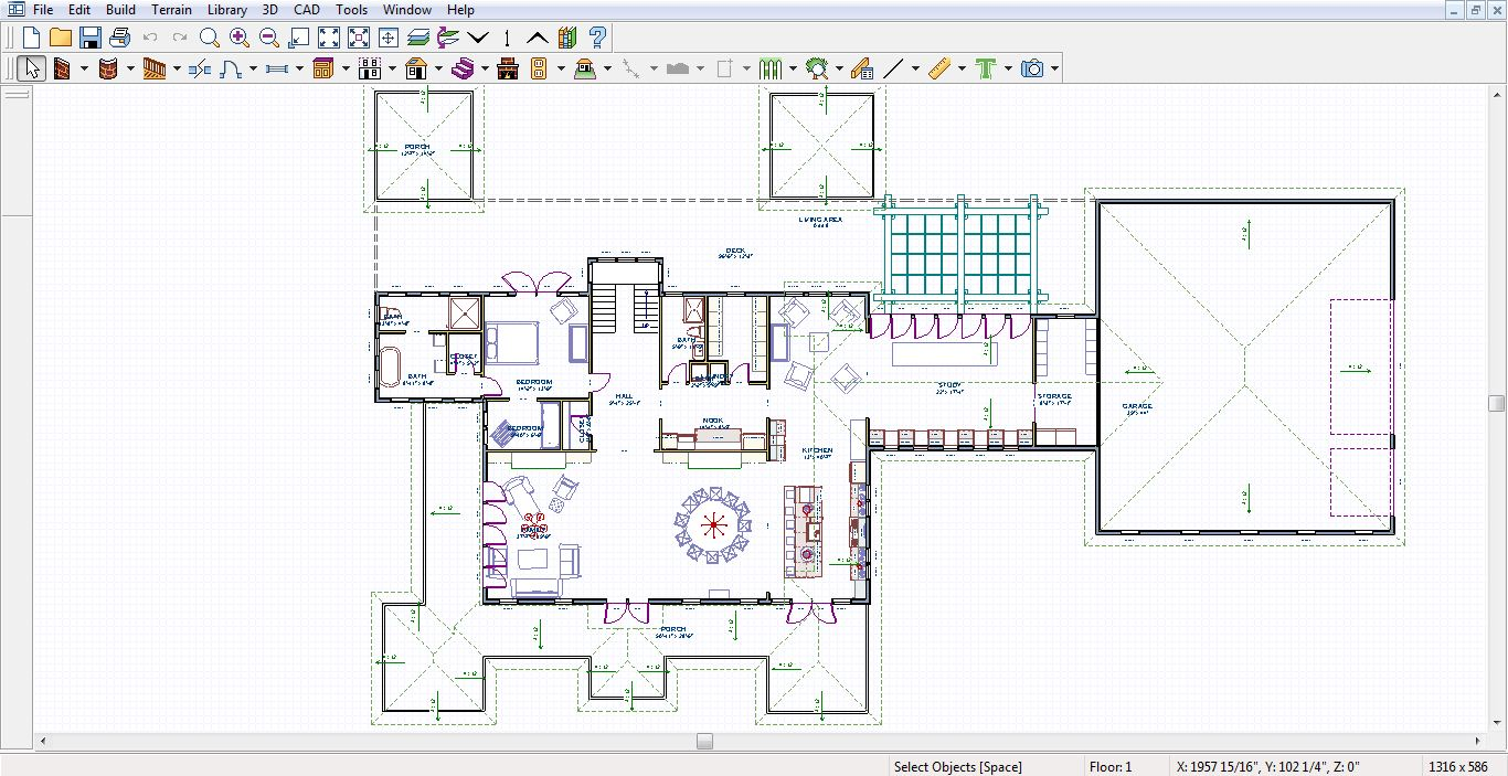 Home Designer Architectural 2012 Review and Screenshots ...