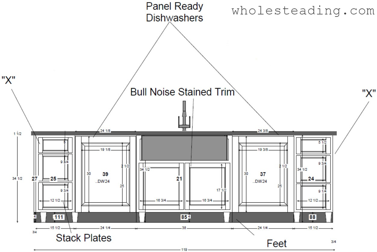 Oven Wall Cabinet Configuration Island Cabinet Configuration