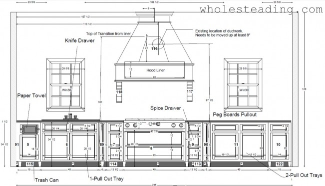 Oven Wall Cabinet Configuration