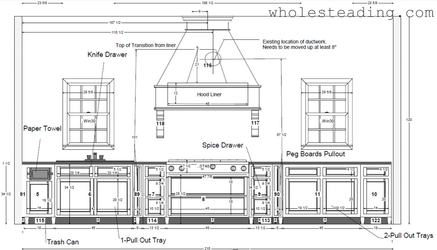 Kitchen Design Layout Oven Wall Cabinet Configuration