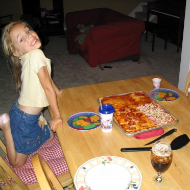 07 - Time to enjoy the pizza