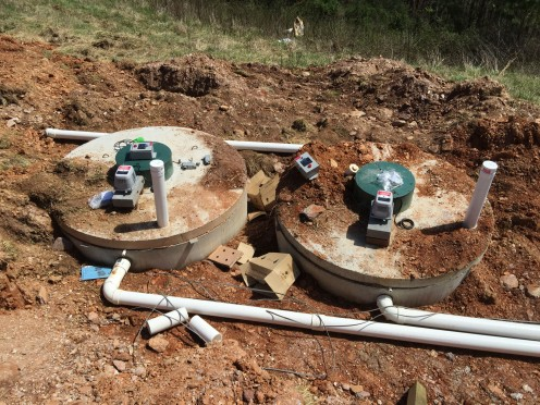 Septic System Aerobic Treatment Units (ATUs) installed (Model DF60)