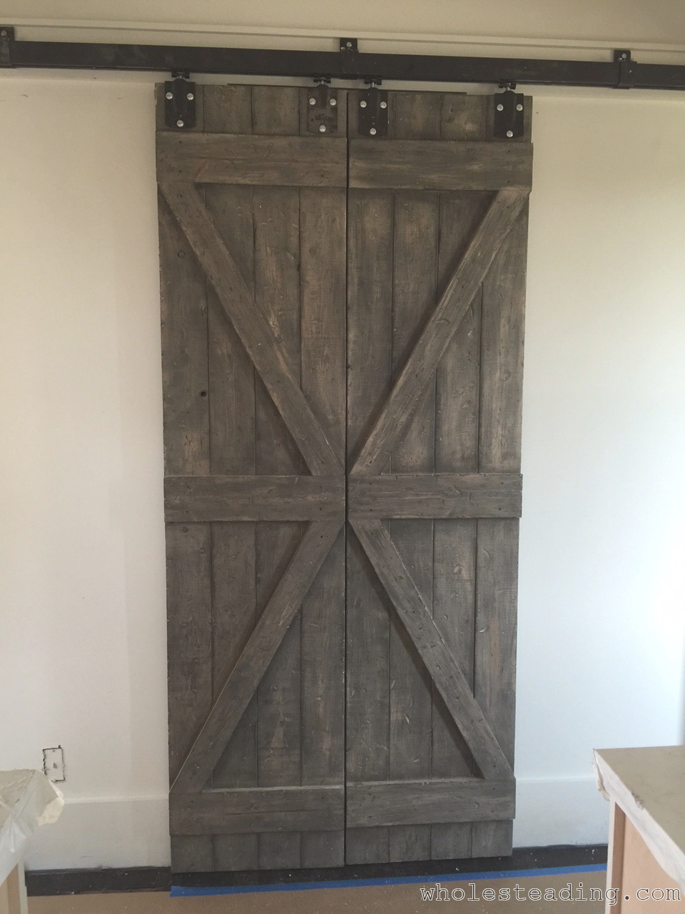 Homemade Barn Doors Wholesteading Com