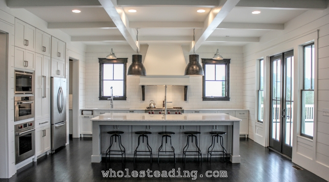 Farmhouse Dream Kitchen - Wholesteading.Com