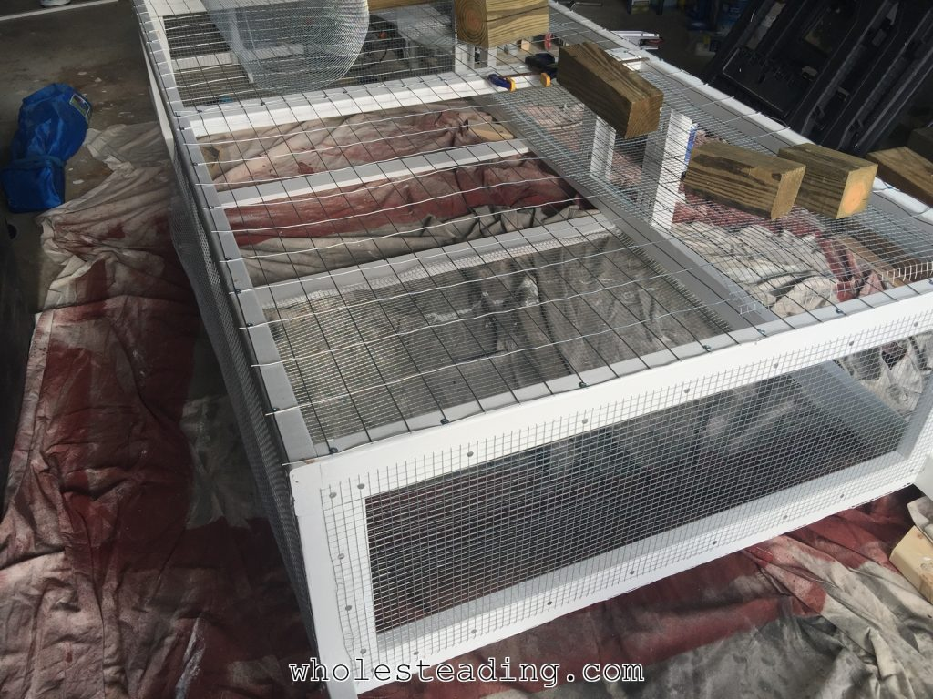 Homemade Chicken Tractor A Mobile Home For Hens